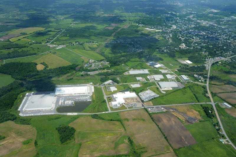 Crossroads Industrial Park is located in Johnstown NY, In Fulton County New York.