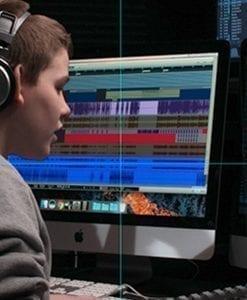 Learing Audio Visual skills at HFM Boces