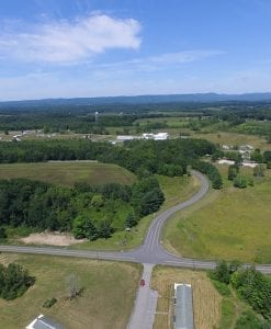 Aerial View of Tryon Technology Development Area