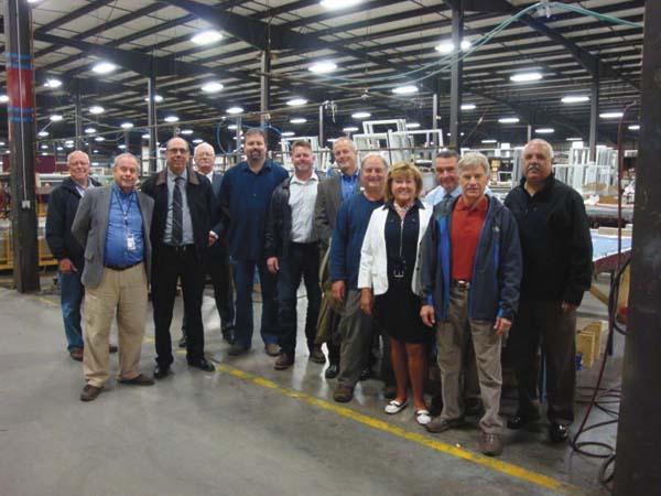 CRG, community leaders tour business