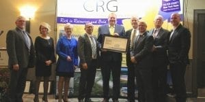 FCCRG board members, from left: Greg Fagan, Terri Easterly, Leslie Ford, Grant Preston, Assemblyman Marc Butler, Kent Kirch, Geoffrey Peck, Ron Peters, and Tim Beckett.