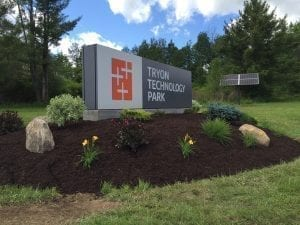 Tryon Technology Park Entrance