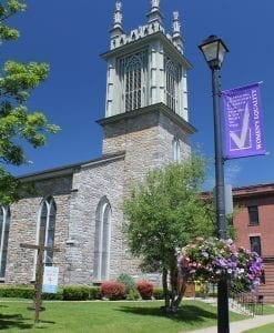 Historic Church in Johnstown, NY