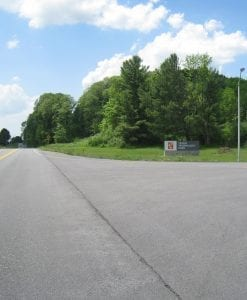 Road to Tryon Development Area