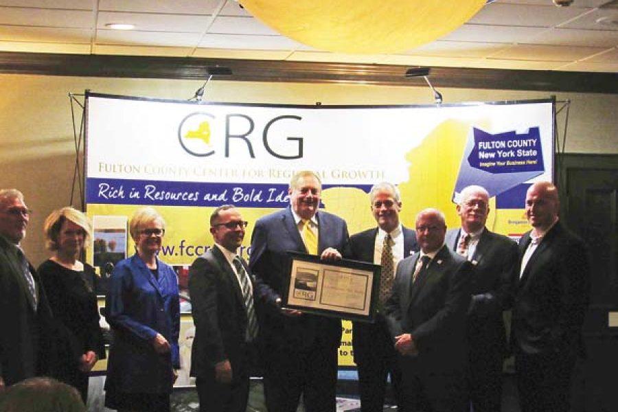 Butler honored at CRG fall gala