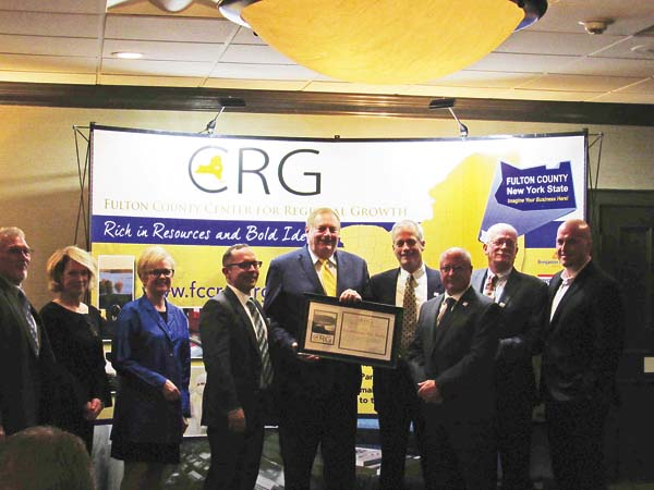 Butler honored at CRG fall gala