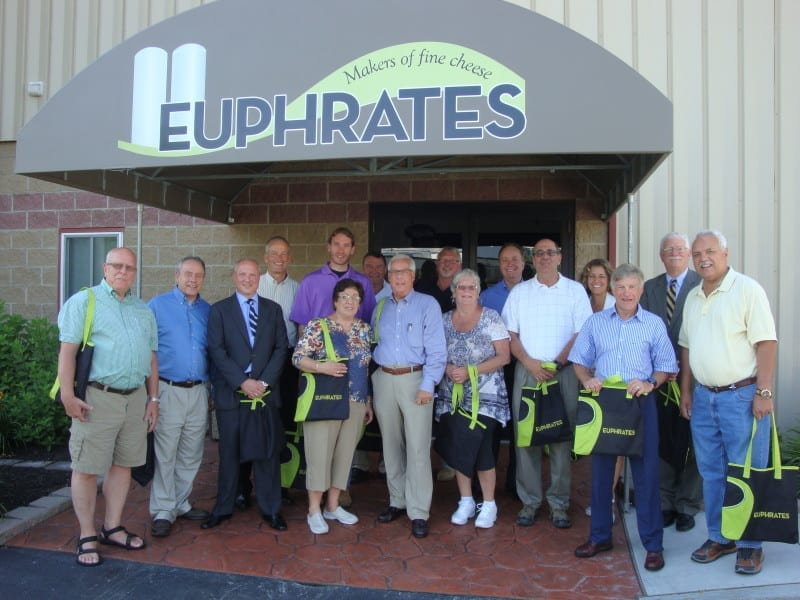 Fulton County Elected Officials Tour Euphrates