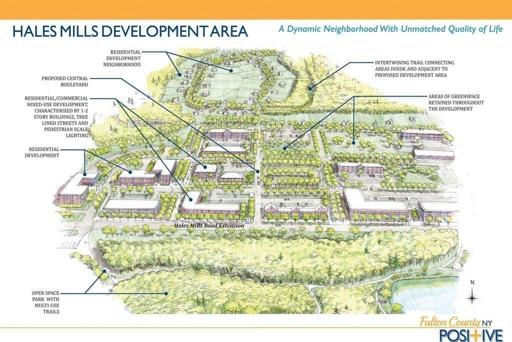 Hales Mills Development Area