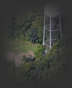water tower at Tryon
