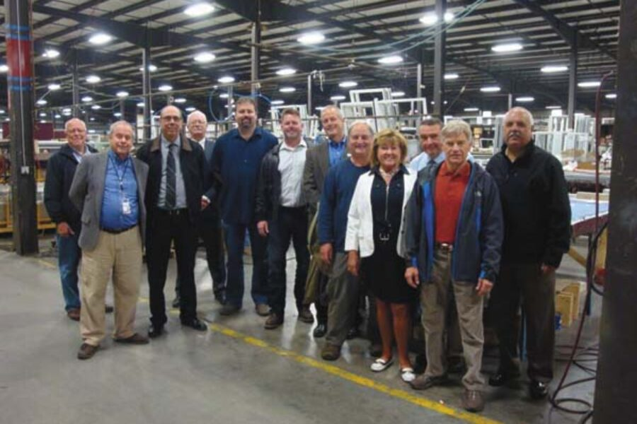 CRG, community leaders tour business