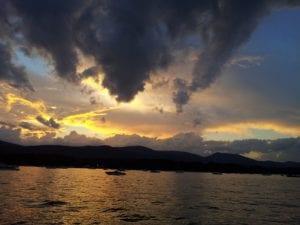 Sacandaga Lake Sunset