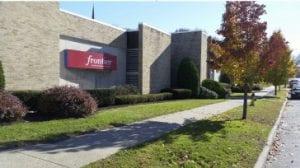 Frontier Communications Building on Harrison Street