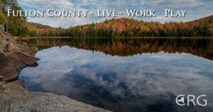 Adirondack Lake in Autumn