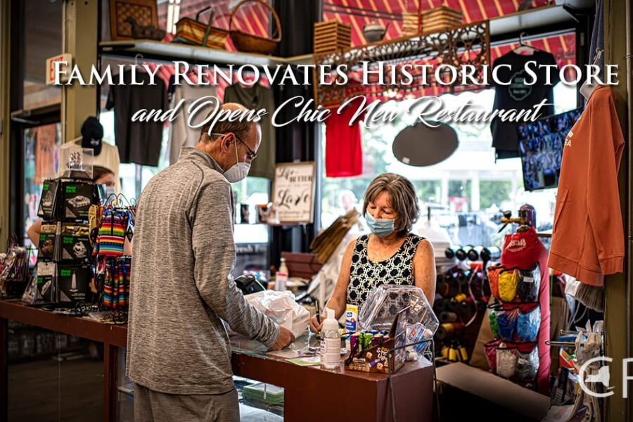 Family Renovates Historic Store and Opens Chic New Restaurant