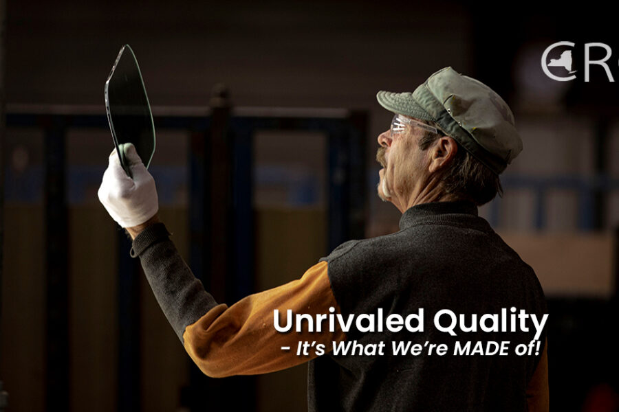 Unrivaled Quality – It's What We're MADE of!